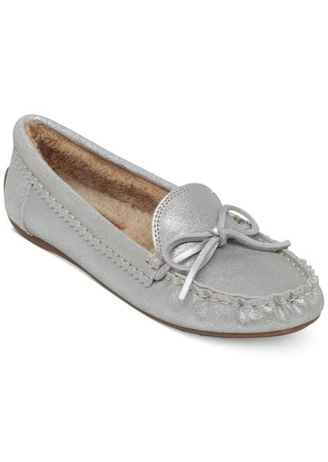lucky brand moccasins slippers lucky brand lucky brand s aligabe faux fur moccasins