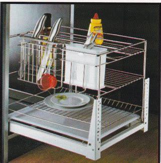 Rak Winston rak piring tarik winston ww025f aksesoris kitchenset