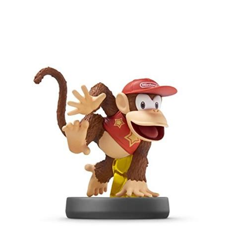 Supersmash Series Diddy Kong Amiibo geekshive diddy kong amiibo smash bros series