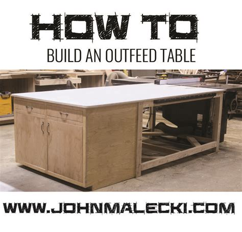 table saw outfeed table ideas best 25 tablesaw outfeed table ideas on