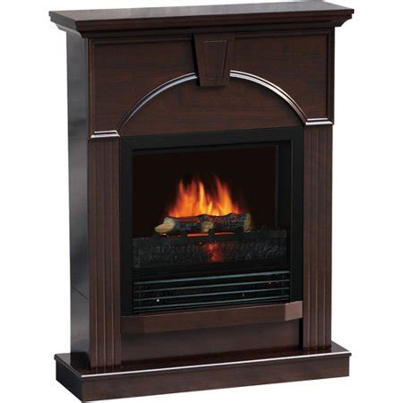 electric fireplaces at walmart quality craft traditional 26 quot electric fireplace espresso