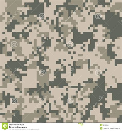 army pattern digital digital camo texture stock vector image 39731894