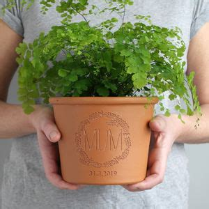 personalised plant pots  herb planters