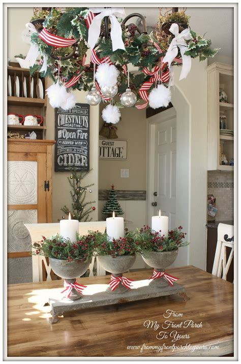 kitchen table decor from my front porch to yours french farmhouse holiday