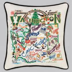 Catstudio Pillow Sale by Catstudio Washington State Pillow Mockingbird On Broad
