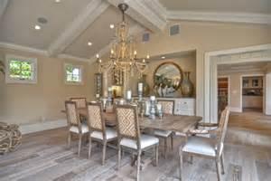 custom white oak hardwood floors contemporary dining