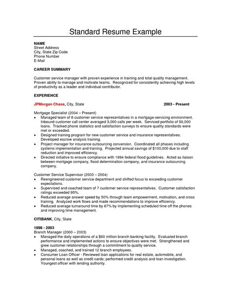 standard format of resume for kpmg resume exle exles of resumes