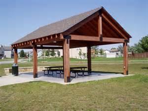 Outdoor Shelter Plans by Picnic Shelter Plans Winwood Park City Of Gardner