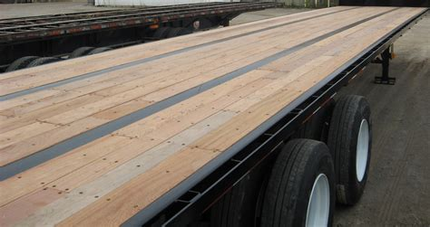 Hardwood Trailer Flooring by Keruing Truck Decking Stocked In Our Warehouse Now