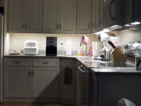 Under Cabinet Lights For Kitchen diy project adding new kitchen to basement