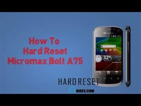 pattern unlock micromax a92 how to hard reset micromax a75 and unlock pattern lock