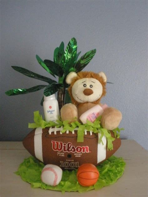 Baby Shower Sports Centerpieces by Jungle Sports Baby Shower Centerpiece Baby Boy Shower