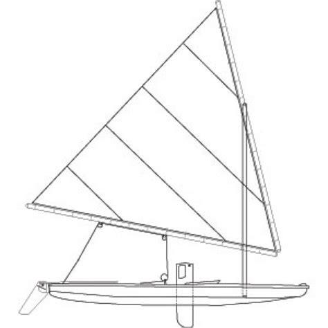 zeilboot abonnement sunfish zeilboot vector gratis download