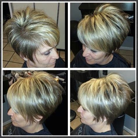 salon envy pixie blonde highlights hair art  sabrina pinterest pixies
