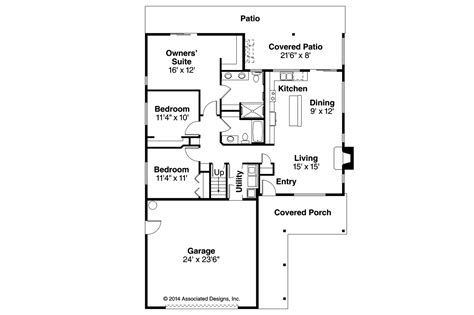 and floor plans ranch house plans belmont 30 945 associated designs