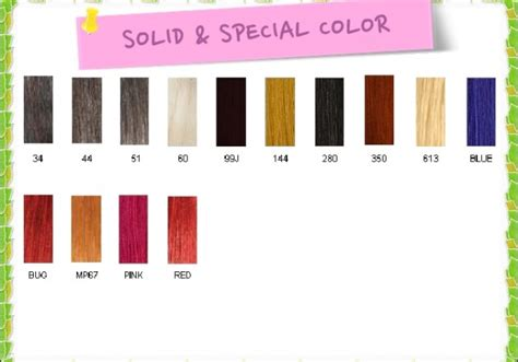 basic solid color chart color charts