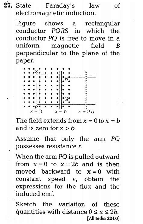 electromagnetic induction for class 12 important questions for cbse class 12 physics electromagnetic induction laws