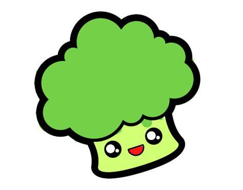 imagenes de comida saludable kawaii dibujo de brocoli kawaii pintado por en dibujos net el d 237 a
