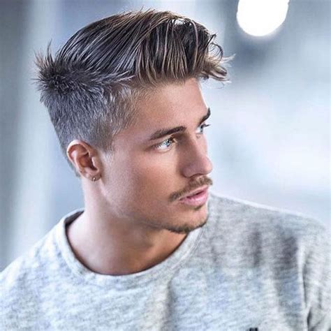 men taper on the sides with beard 17 classic taper haircuts