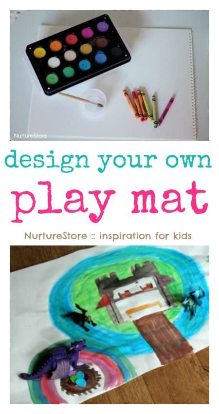 How To Make Your Own Matting For Picture Frames by Make Your Own Playmat Nurturestore