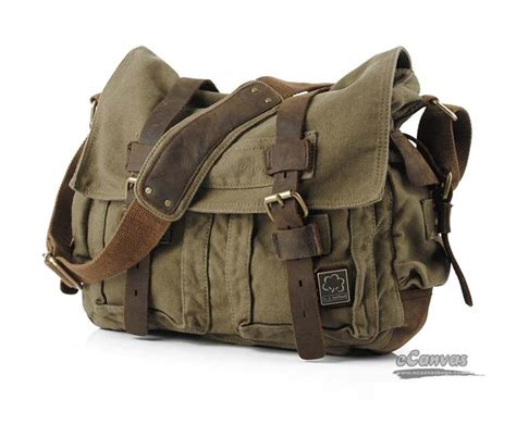 Canvas Chest Bag Army Green Intl canvas messenger shoulder bag army green khaki