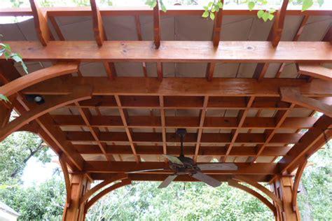 pergola gazebo shadefx introduces topside pergola canopies