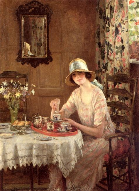 Barcelona Chair Comfortable Art Friday William Henry Margetson