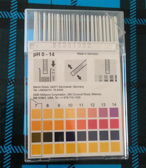 Kertas Ph Nesco Ph Paper Lakmus Mengetahui Ph Air Asam Basa Jual Kertas Ph Ph Paper Lakmus Merck Germany