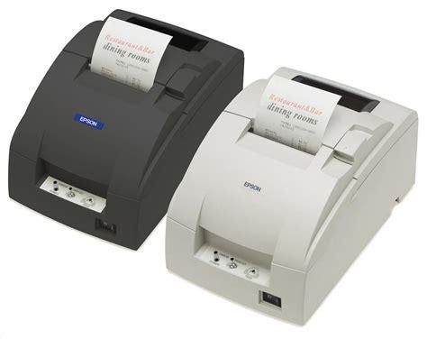 Printer Epson M188d epson model tm u220 m188d receipt printer used kuala