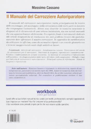 Listino Prezzi Carrozziere - libro il manuale carrozziere autoriparatore teoria