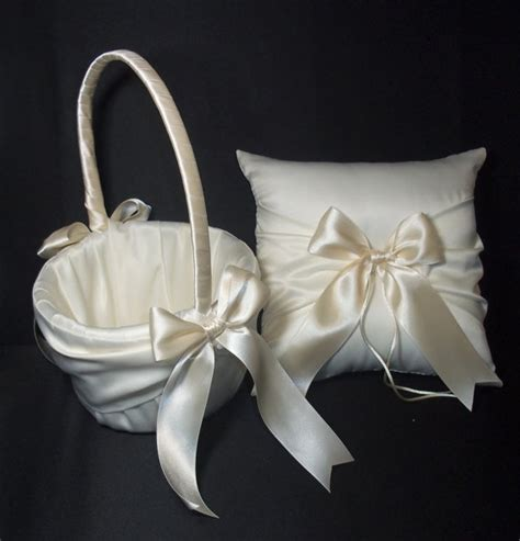 Wedding Pillow Sets by Ivory Or White Wedding Ring Bearer Pillow By Jessicasdaydream