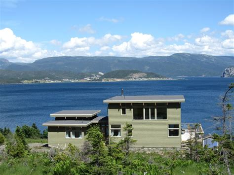 Newfoundland Cottage Rentals by Luxurious Gros Morne Newfoundland House 2 Br Vacation
