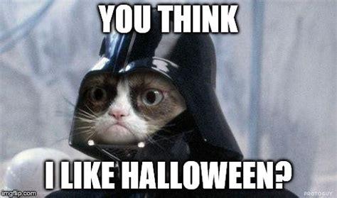 Halloween Cat Meme - grumpy cat halloween imgflip