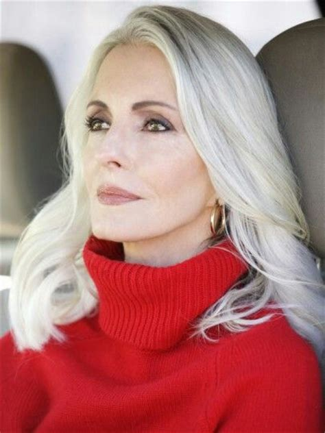 platinum hair older woman 25 best ideas about gray hairstyles on pinterest gray