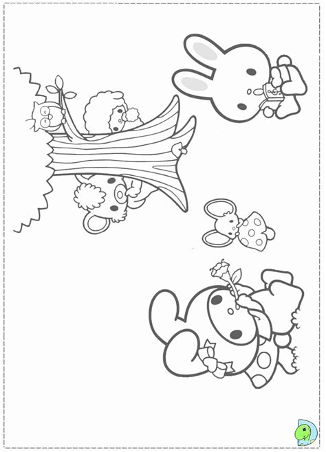 My Melody Coloring Page Az Coloring Pages Melody Coloring Pages
