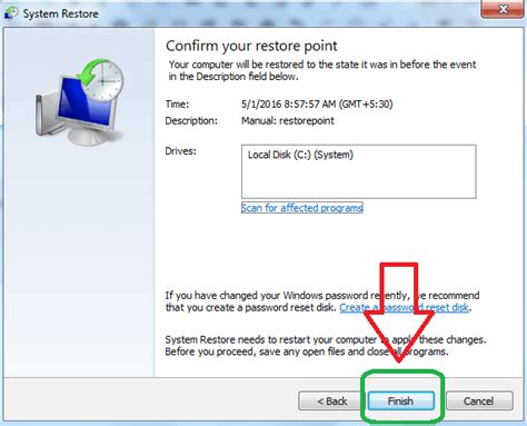 resetting windows vista to earlier date how to restore computer to earlier date in windows 7 8 8 1