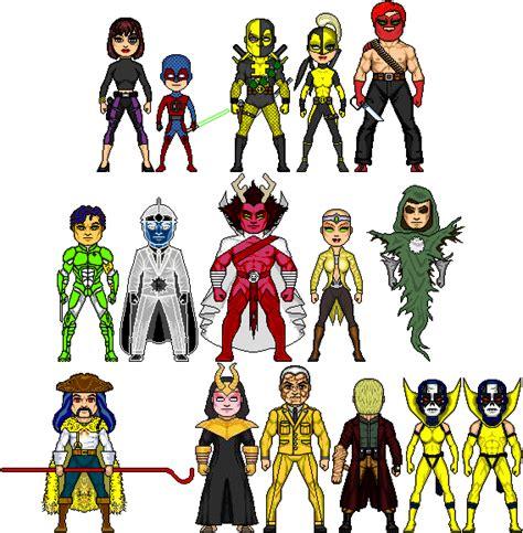 Blind Ninja New Amalgam Comics Enemies Of The Teen Avengers By Red