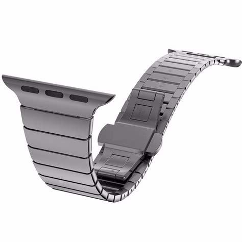 Pulseira Black Bracelet De Elo Preta Apple Watch 42mm   R$ 335,89 em Mercado Livre