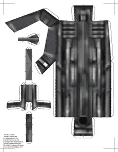 papercraft weapons templates papercraft half glock 9mm handgun fb models the