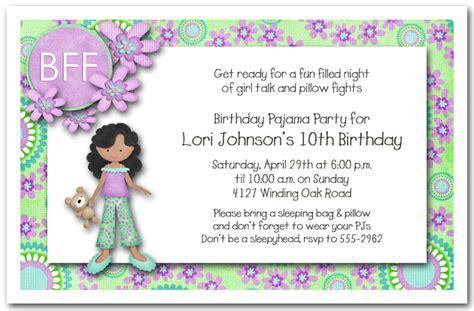 girls birthday invitations ideas free templates bagvania