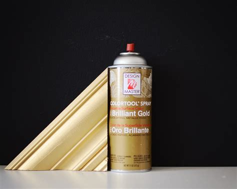design master paint finding the perfect gold spray paint the vintage rug