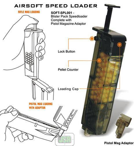 Bb Bulet Magazine utg airsoft bb soft air gun 6mm bb speedloader bullet ammo