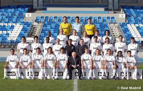 Real Madrid 09 foto oficial real madrid 08 09