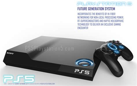 playstation console ps5 console controller actuality designs