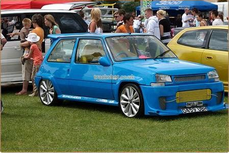 Ali G Renault 5 Classic Speed Culture Cars By David Stanley