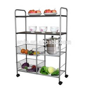 Kitchen Cabinet Racks Storage by Storage Kitchen Cabinet Rolling Pantry Rack Shelf Buy