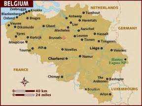 Brussels Map Europe by Map Of Belgium