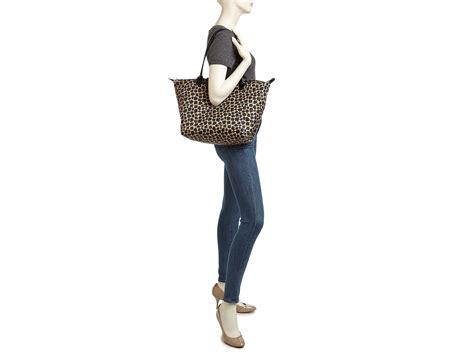 Longch Le Pliage Neo Handle Neo Shopper O R I G I N A L 2 longch le pliage neo fantaisie large tote in black lyst