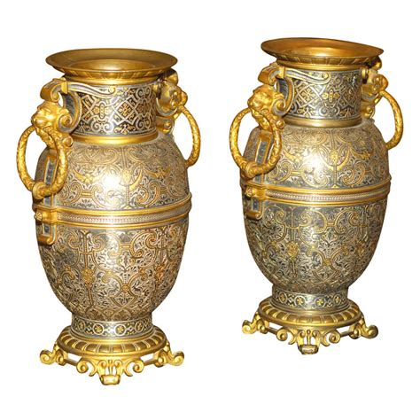 Antique Vases For Sale by Pair Of 19th Century Vases For Sale Antiques