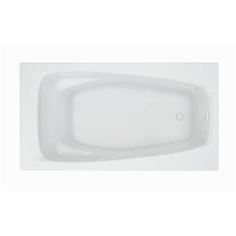 non standard bathtubs american standard renaissance 5 ft acrylic rectangular drop in non whirlpool bathtub
